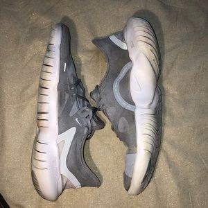 Nike Free 5.0 Running Shoes Wolf Gray White